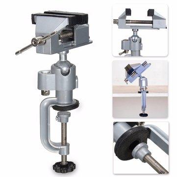 360°Vise Work Bench Swivel Rotating Clamp Tabletop Craft Repair DIY Tool