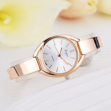 Elegant Designed Ladies Watch Rose Golden Quartz Wrist Watch