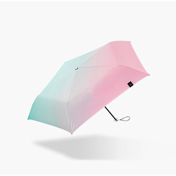 Beneunder Folding Sun&rain Umbrella UPF 50+ LRC Vinyl 99% UV Protection Single Layer 130g Lightweight Umbrella