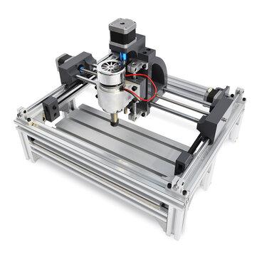 2415 Bộ định tuyến CNC nặng Máy khắc gỗ Máy cắt trục chính Động cơ khắc 240x150x70mm