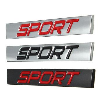 Car Sticker Rear Fender Emblem Badge Metal Sport for Jetta Golf Polo