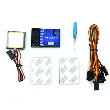 NB One 32 Bit Flight Controller Built-in 6-Axis Gyro With Altitude Hold Mode + GPS Module for Airplane RC Fixed Wing