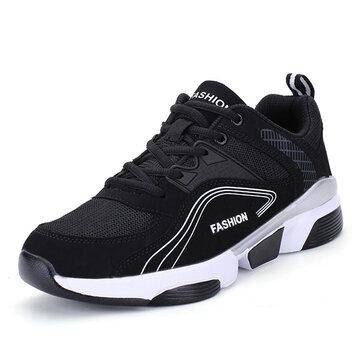 पुरुष कॉम्फी मेष एथलेटिक जूते आउटडोर खेल जूते स्नीकर्स