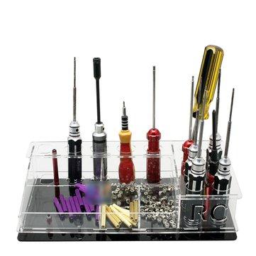 US$12.60Multi-functional Universal Tool Kit Storage Box Screwdriver Rack DIY For ESC Motor FPV RC DroneRC Toys & HobbiesfromToys Hobbies and Roboton banggood.com