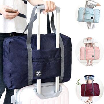 IPRee® Portable Travel Storage Bag Waterproof Polyester Folding Luggage Handbag Pouch