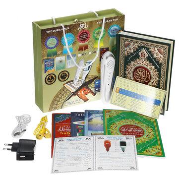 Digital Holy Quran Reading Pen Colour Coded 5 Books 8GB  Earphone