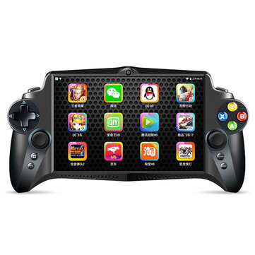 JXD S192K RK3288 Quad Core RAM DDR3 4GB ROM 64GB 7 inch 4K Handheld Game Console Android Tablet for PSP Android PS1 NDS N64 Games Player