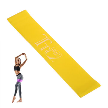 500x50x0.45mm 12lb Resistance Bands Natural Latex Exercise Bands Pilates Flexbands Home Fitness
