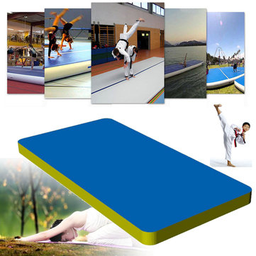 275.6x35.4x3.9  Inflatable Air Track Mat Outdoor Home Training Tumbling Gymnastics Protective Pad