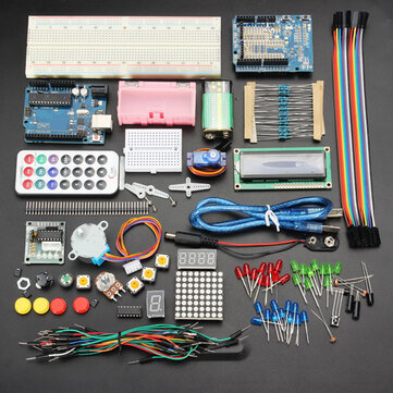 Geekcreit® UNOR3 Basic Learning Starter Kits Upgrade Version For Arduino
