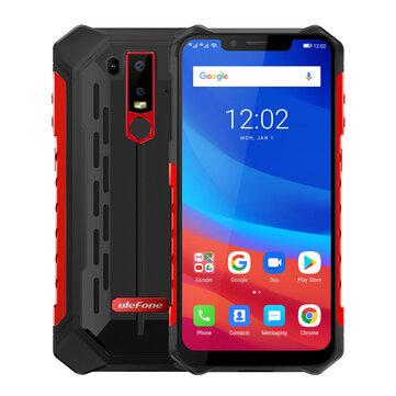 Ulefone Armor 6 NFC IP68 IP69K Waterproof 6.2 inch 6GB 128GB Helio P60 Octa core 4G Smartphone