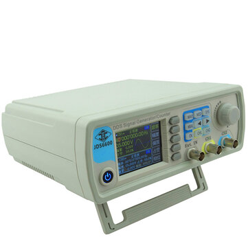 JUNTEK™ JDS6600 DDS Signal Source Dual Channel Arbitrary Wave Function Generator Frequency Count