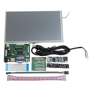 9inch LCD Display Screen Monitor For Raspberry Pi HDMI//VGA//2AV Driver Board