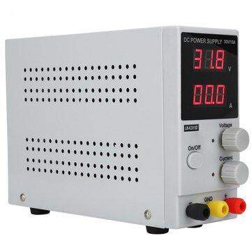 लंबी WEI LW-K3010D 110V / 220V 30V 10A समायोज्य डिजिटल डीसी बिजली की आपूर्ति स्विचिंग बिजली की आपूर्ति