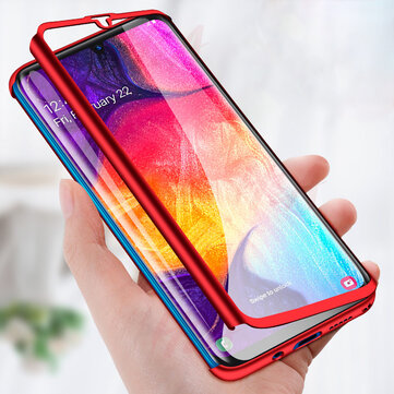 Bakeey 360° Full Body PC Front+Back Cover Protective Case With Screen Protector For Samsung Galaxy A50 2019/Galaxy A70 2019/Galaxy M20 2019