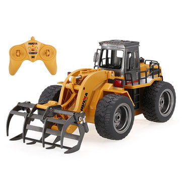 HuiNa Toys 1590 1/18 2.4Ghz 6CH Timber Grab Engineering Vehicles