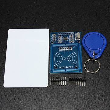 5Pcs 3.3V RC522 Chip IC Card Induction Module RFID Reader 13.56MHz 10Mbit/s Geekcreit Arduino - products work official Arduino boards