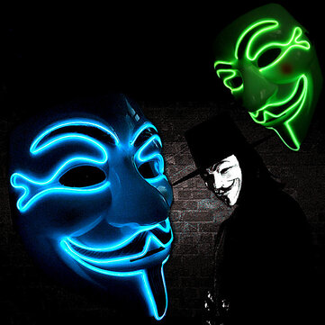 How can I buy Halloween V for Vendetta Mask LED Scary EL Wire Mask Light Up Festival Cosplay Costume Supplies Party Mask with Bitcoin