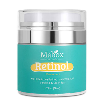 MABOX Moisturizer Cream For Face and Eye Area Anti Aging Wrinkles Hyaluronic Acid Vitamin 50ml