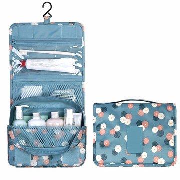 Kosmetiska väskor Travel Organizer Hängande Tvätt Toalettsaker Multifunktionsförvaring MakeUp Bag