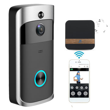 Wireless Camera Video Doorbell Home Security WiFi Smartphone Remote Video Rainproof