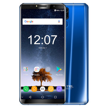 Oukitel K6 6,0 tommers 6300mAh 5V/3A 6 GB RAM 64GB ROM MT6763 Octa Core 4G Smartphone
