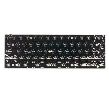 Placa do PWB do teclado da personalização Mecânico do PWB Type-C da disposição de DZ60 60%