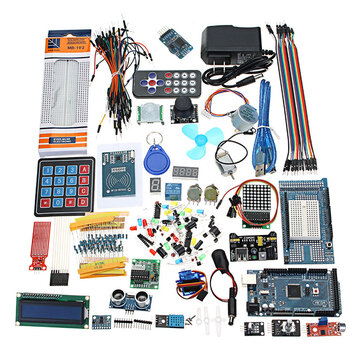 Geekcreit® Mega 2560 The Most Complete Ultimate Starter Kits For Arduino Mega2560 UNOR3 Nano No Battery Version