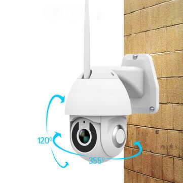 Xiaovv OU-9113-M4 HD 1080P PTZ Pintar WIFI IP Kamera Inframerah Malam Versi M-otion Deteksi 355 ° Rumah Monitor Bayi