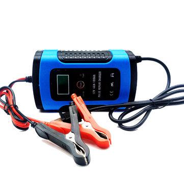 Lead Acid Battery >> Imars 12v 6a Blue Pulse Repair Lcd Battery Charger Untuk Mobil Motor Lead Acid Battery Agm Gel Wet