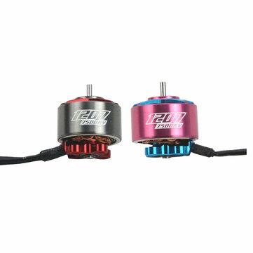 RCINPOWER GTS V2 1207 5000/6000KV 3-4S 7500KV 2-3S Brushless Motor for RC Drone FPV Racing