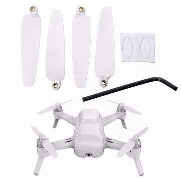 4Pcs Replacement Quick Release Foldable Propeller Props Blade Set CW CCW for Yuneec Breeze 4K Drone