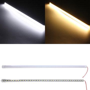 50CM 8.6W DC12V LED Rigid Strip Light 36 SMD 5050 Aluminum Alloy Shell Cabinet Lamp Bar