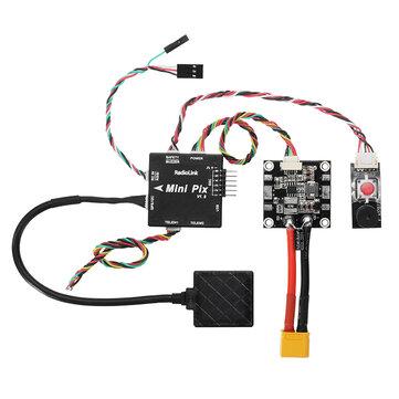 Radiolink Mini PIX F4 Flight Controller MPU6500 w/ M8N GPS UBX-M8030 For RC Drone FPV Racing