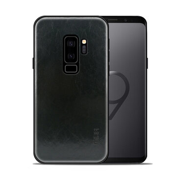 Mofi Leather Texture PC & Soft TPU Protective Case for Samsung Galaxy S9 Plus