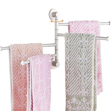 Polished Rack Holder Hardware Accessory Towel Bar Rotating Rack Bathroom Kitchen Towel