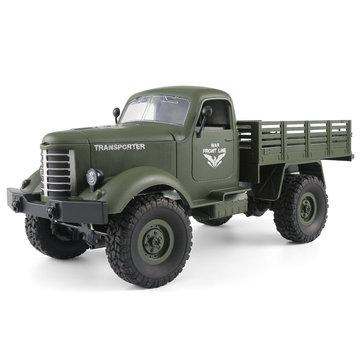 4944 9 22 क्यू 61 1/16 2.4 जी 4WD ऑफ़-रोड सैन्य ट्रक क्रॉलर आरसी कार