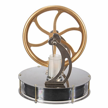 Low Temperature Stirling Engine Motor Temperature Difference Cool Model Educational Toy