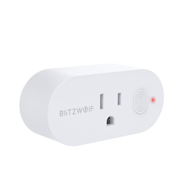 BlitzWolf BW SHP12 15A 1875W US Plug Smart WIFI Switch APP Remote Controller Timer Socket Work with Amazon Alexa Google Home Assistant