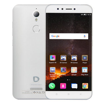 SuperD D1 5.5 Inch HD Naked Eye 3D Fingerprint 3000mAh Support FOTA 4GB RAM 64GB ROM MT6750T Octa Core 4G Smartphone