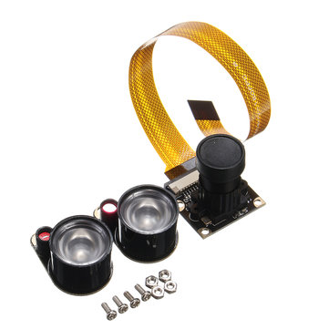 5MP Infrared IR Night Vision CMOS Camera Module For Raspberry Pi