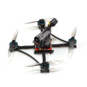 HGLRC Petrel 120X 120mm 6S Zeus13 AIO F4 3 Inch Ultralight Toothpick FPV Racing Drone PNP BNF w/ 1303.5 2500KV Motor 25-350mW VTX CADDX ANT 1000TVL Camera