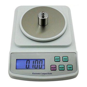 SF-400C 500g 0.01g Electronic Balance Scale High Precision Digital Display Kitchen Tool