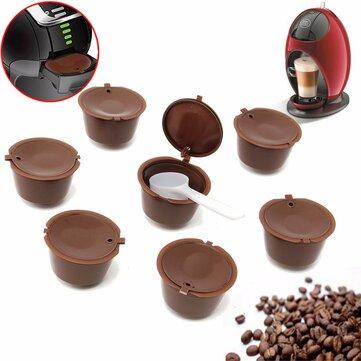 8Unids Tazas de Filtro de Repuesto Reutilizable para Cápsula de Café