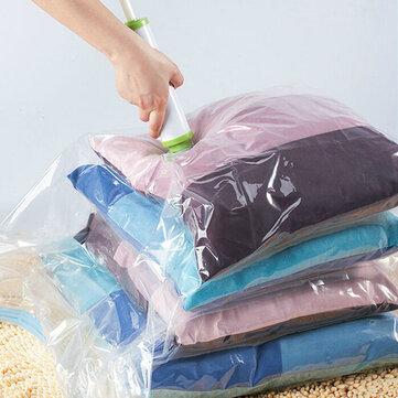 KCASA Sacchetto di Immagazzinaggio sotto Vuoto Risparmia Spazio Organizza gli Abbigliamenti Sigillabile