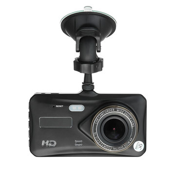 A6T 4 Inch Dual Lens Camera HD 1080P 170 Degree Car DVR Video Dash Cam Recorder WIFI 32G