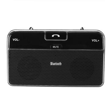 Inalámbrico Bluetooth 4.0 Altavoz en el automóvil Visor de sol Música Bluetooth Receptor Cargador de coche