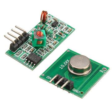 Alıcı Modülü Ile 433 Mhz RF Dekoder Verici Arduino ARM MCU Kablosuz Için Kit