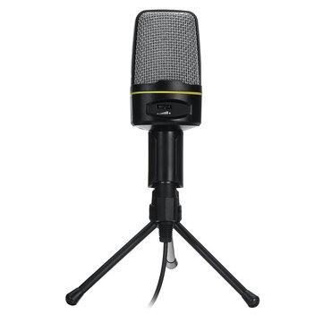 Desktop Tripod Microphone Profession For PC Phone YouTube Skype Games Desktop