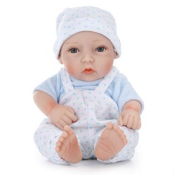 11inch hecho a mano Reborn Baby Doll realista recién nacido Boy Toy Play House juguetes